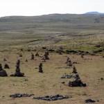 piles of rocks