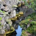cracked rock stream