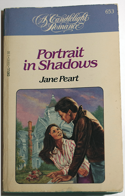 Portrait in Shadows by Jane Peart, a TBR Challenge Read