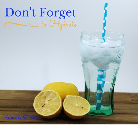 Don't Forget to Hydrate