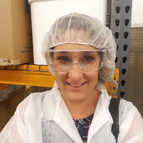 Here I am, on the NOW tour. Don't I look fancy in my hat, glasses, and lab coat?!