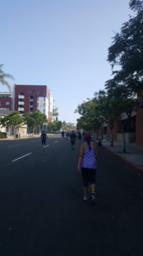 The last couple of miles: It's all uphill!