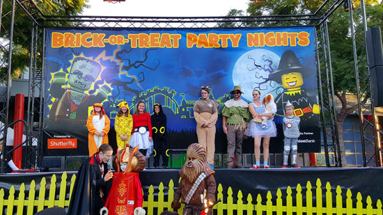 The costume contest was so much fun!