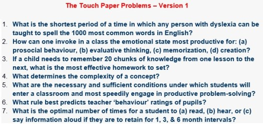 TouchPaper Problems