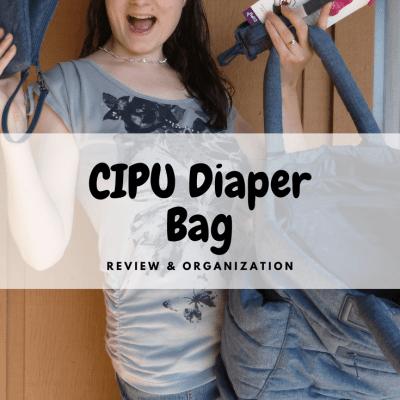 Comfy & Organized – How I Pack My CiPU Diaper Bag!