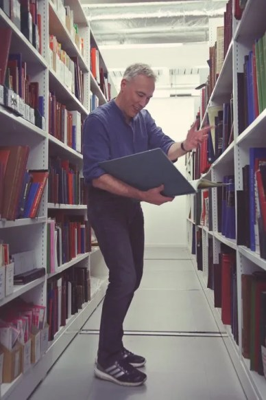 Simon gets excited at finding really old maps of the North East region inside Newcastle City Library's archive. Professional Photography shot by Laura Pearman Photography