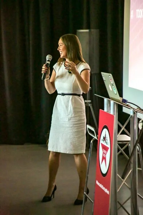 Natalie Hailey Speaking at Newcastle Start Up Week
