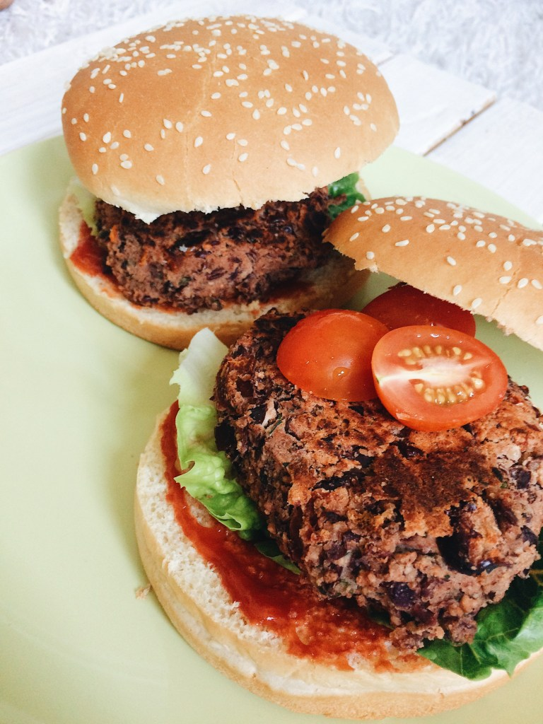 Vegan Dinner Ideas // Burger
