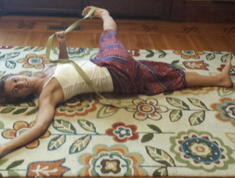 Easy leg stretches-pic 3-Laura Regna Fitness