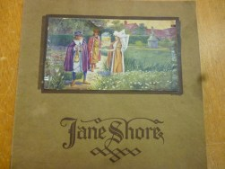 Jane Shore 1915 cover