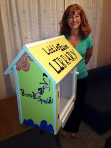 My Little Free Library! and a poetryaction to Fall Leaves, by Loretta Holland