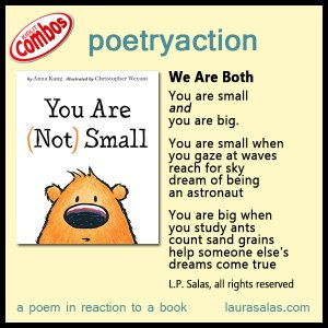 poetryaction and bookalikes for You Are (Not) Small