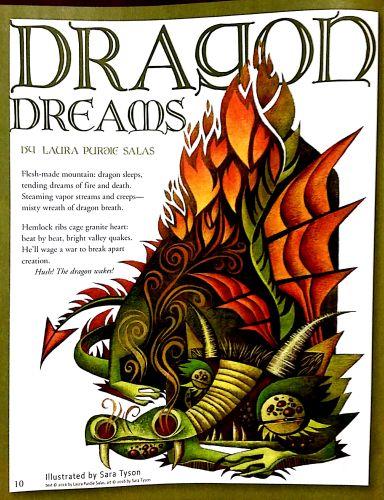Dragon Dreams, by Laura Purdie Salas