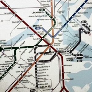 Subway Map [15 Words or Less Poems]