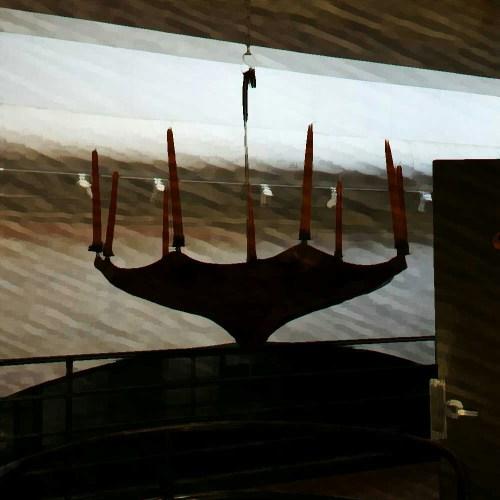 umbrella chandelier 15wol