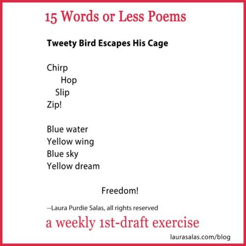 Tweety Bird Escapes His Cage