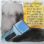 Finding a Flashlight #poemsketch