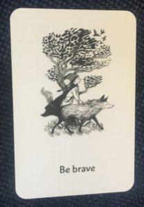 Sara Lewis Holmes business card