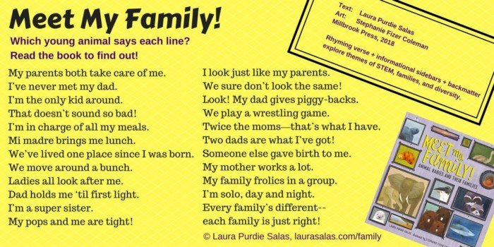 Meet My Family Text