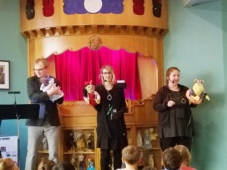 Hooray for puppet shows!