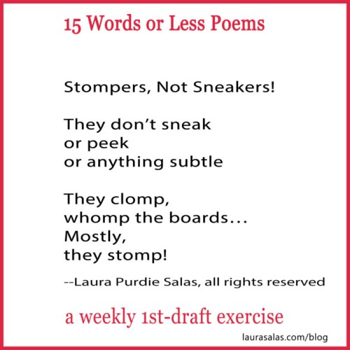 Stompers, Not Sneakers