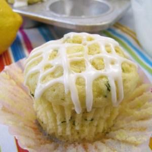 Sunny Lemon Zucchini Muffins