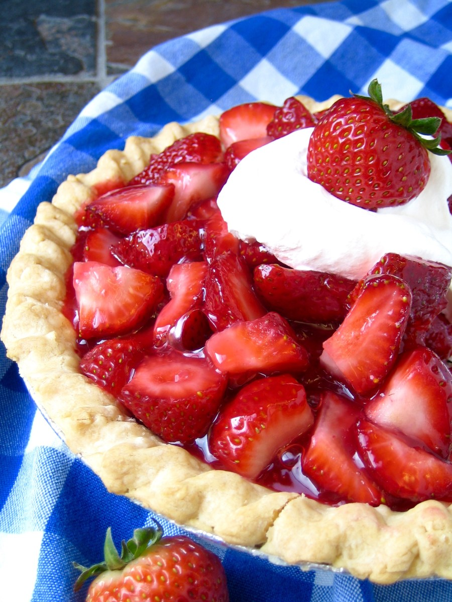 World's Best Strawberry Pie