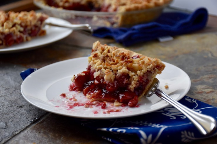 Double Cherry Crunch Pie Recipe