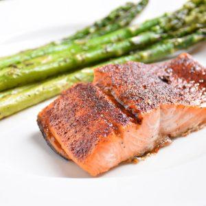 Caramelized Maple Chili Salmon