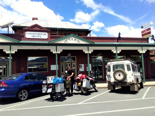 We came across lovely little country towns every day. Easy stops for stocking up