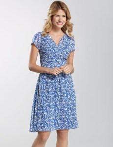 Pepperberry mock wrap dress