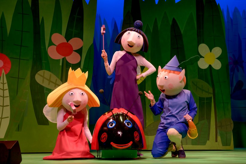 Ben and Holly Live family ticket competition