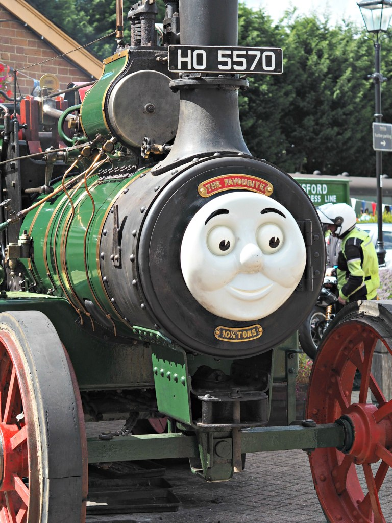 Day out with Thomas at the Watercress Line - Percy
