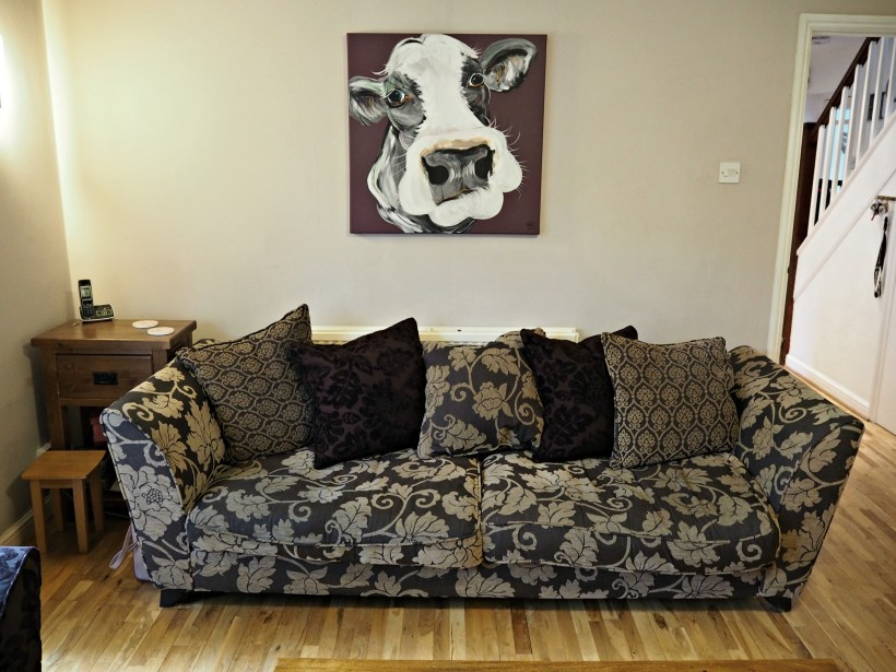 Current sofa and Caroline Walker painting