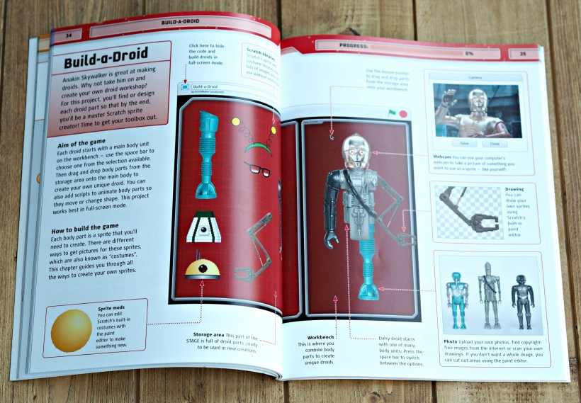 BEN'S ZONE: Star Wars Coding Projects Book Review - Laura's