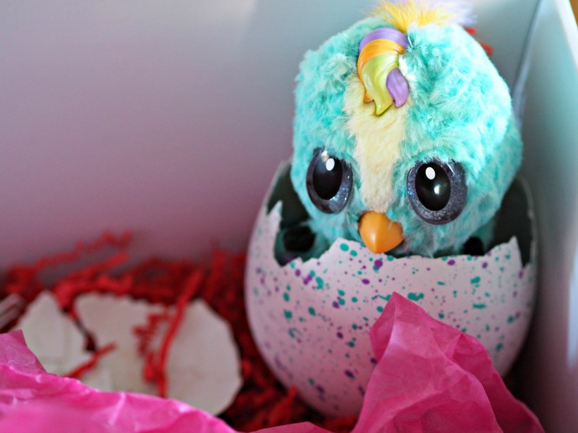 Hatchimals Hatchibabies Review - hatched egg