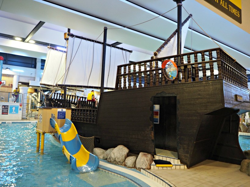 Attending the Zoggs Event at Coral Reef - Bracknell - the pirate ship