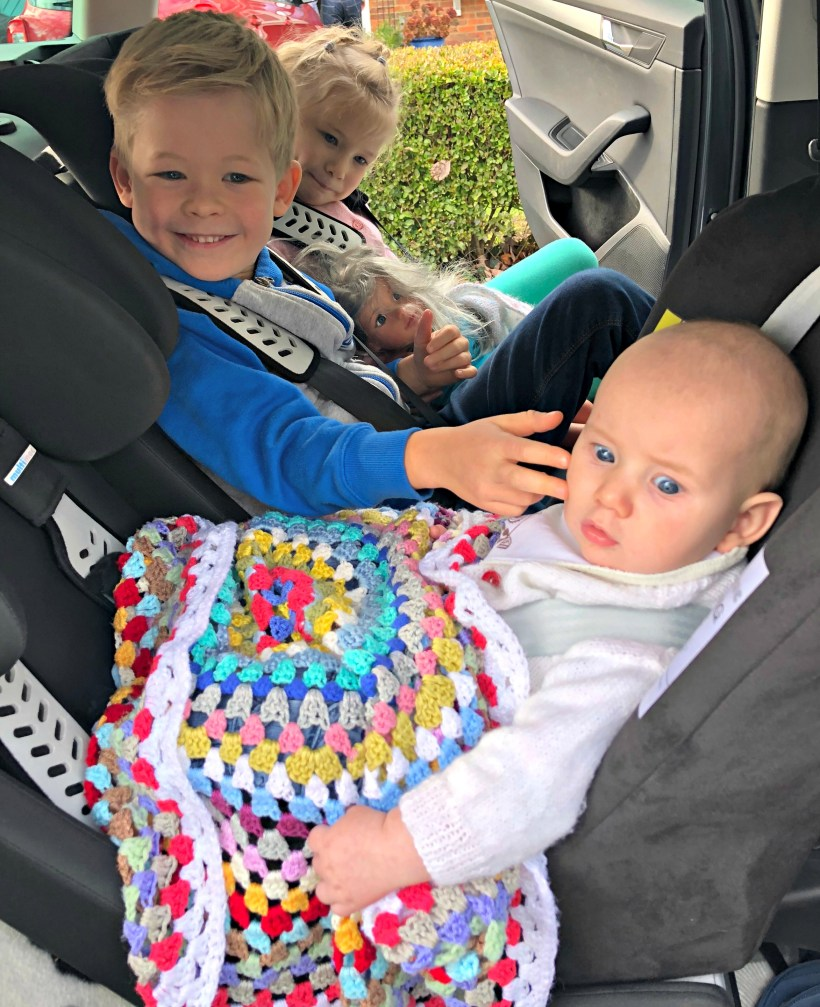 BEN'S ZONE Multimac Car Seat Review - Bodhi first