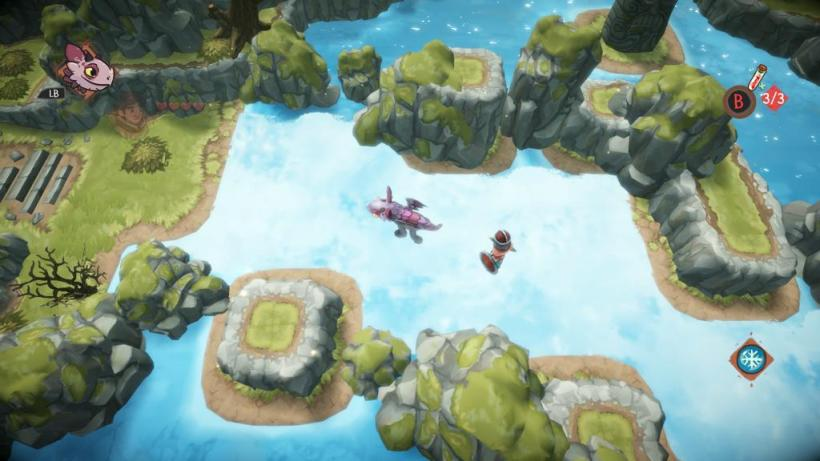 BEN'S ZONE: Dreamworks Dawn of the New Riders Xbox One Review - screen grab 2