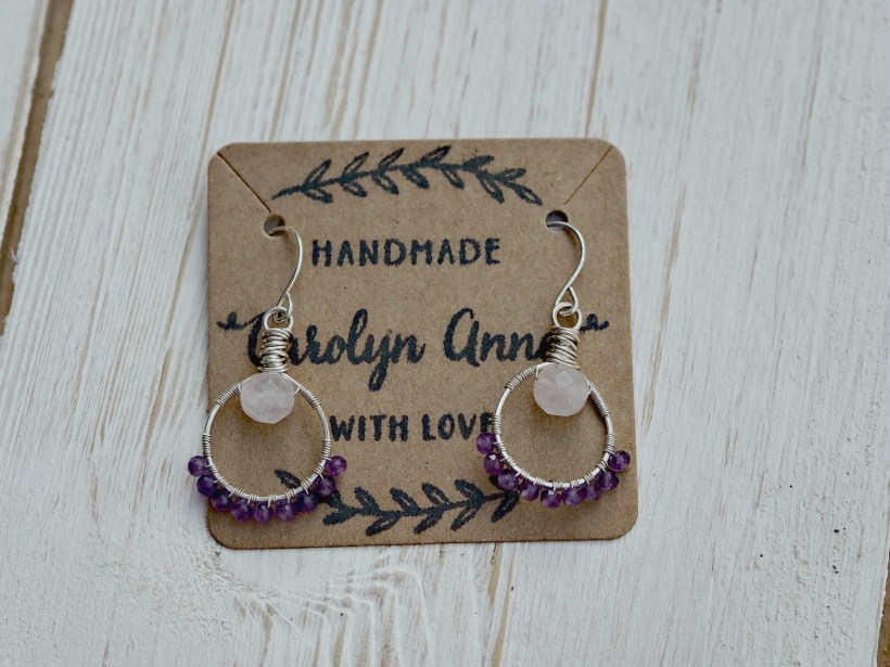 Carolyn Anne Jewellery Review - earrings