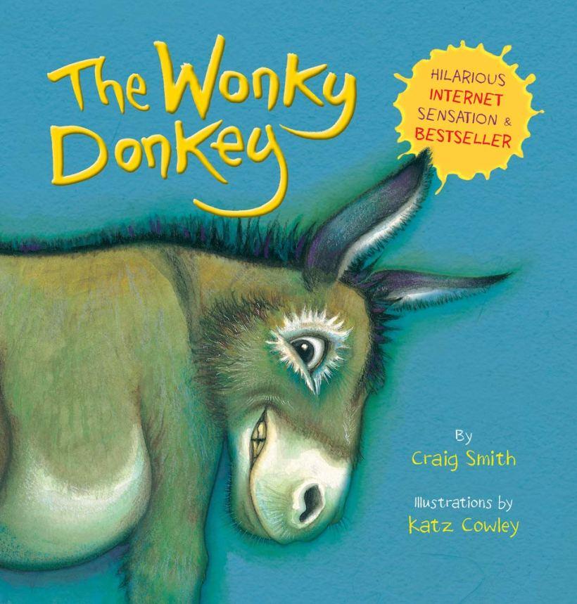 The Wonkey Donkey book cover