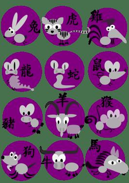 animali dello zodiaco cinese