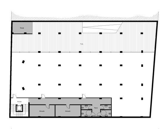 Planta Semisótano - Servicios