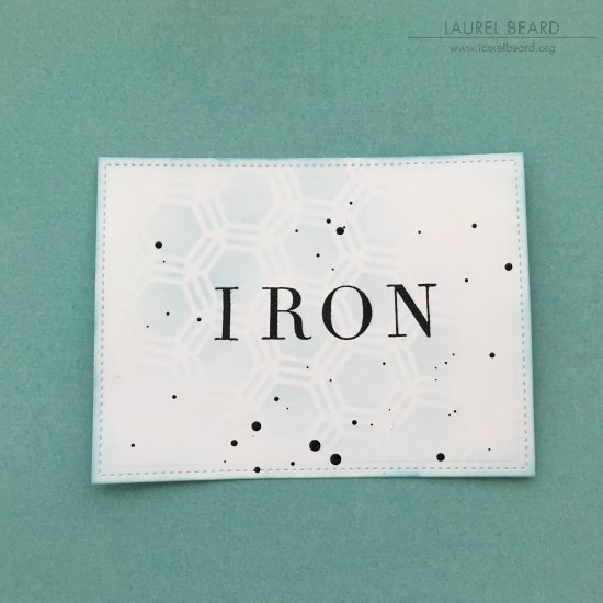 Stenciled Laundry Labels with Laurel Beard 2