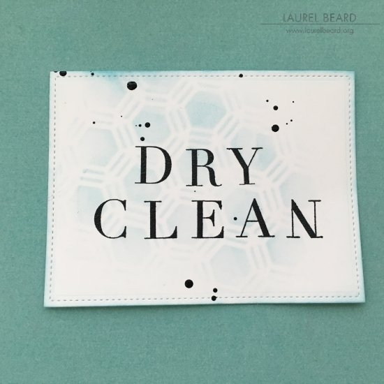 Stenciled Laundry Labels with Laurel Beard 3