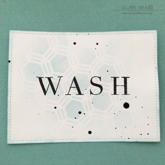 Stenciled Laundry Labels with Laurel Beard 4