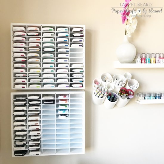 Ink Storage Organizer 60 count Organize Moore Laurel Beard