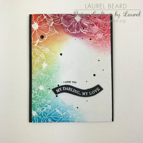 Laurel Beard Morning Glory Border The Ton Stamps