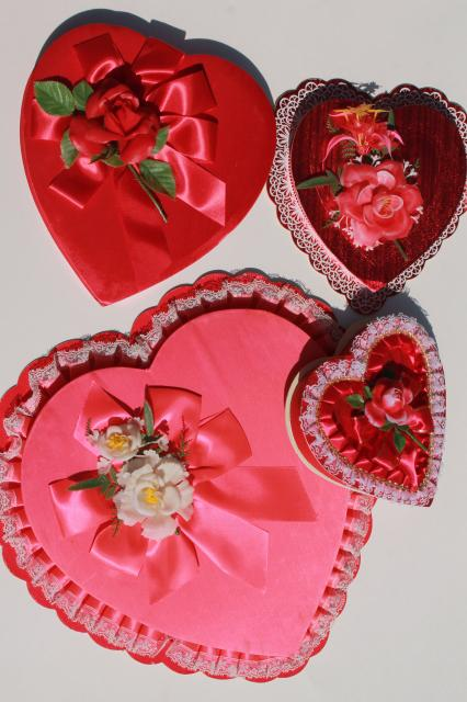 Vintage Valentines Collection Of Valentine Heart Shaped