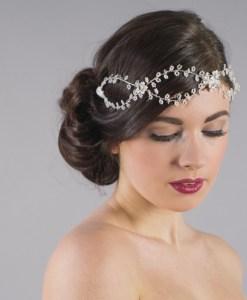 Passiflora Hair Vine Bridal Halo